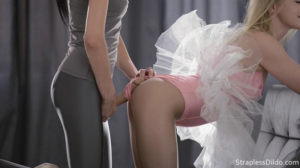 Strapless dildo ballerina agree